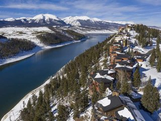 Breathtaking Panoramic Views From Ridge Overlooking Lake Dillon & Mountains.  Cl