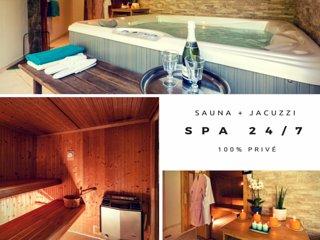Un espace bien-être avec jacuzzi, sauna et hammam pour encore plus de détente.