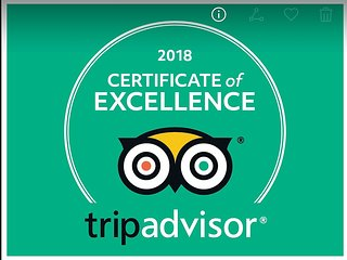 5 Star Certificate of Excellence Awarded 2018