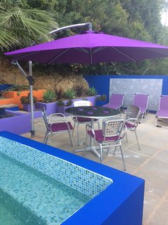 dine alfresco on your terrace or in your private garden