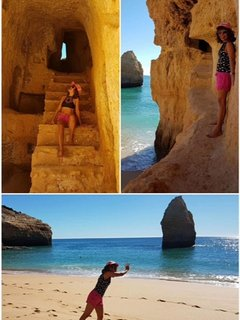 Carvalho is truely amazing. These steps were probably carved out by smugglers hundreds of years ago