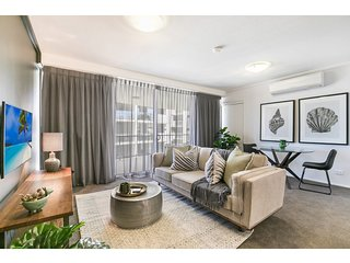 Modern comfort, luxury extras in hip neighbourhood