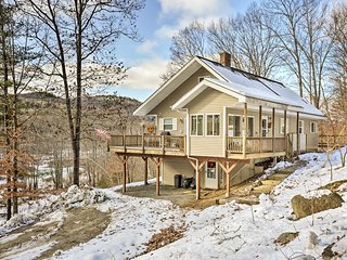NEW! Riverfront Bradford Home-11 Mi to Mt. Sunapee