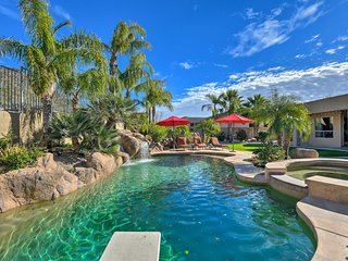 NEW! Phoenix Home w/ Pool, Spa, Yard & Mtn. Views!