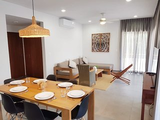 Fancy 2BR  located in Tulum Magic village by Happy Address