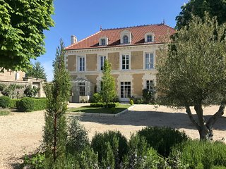 Gracious Maison near Cognac & Angouleme in Park-Like setting with Private Pool.