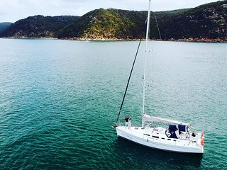 "Sail Pittwater for a day,a night or a week .""Experience the magic of Pittwater"""