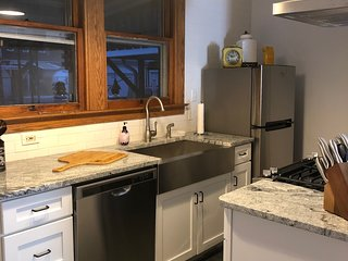 Spacious 3 bedroom home in Easton PA with complimentary coffee and beverages