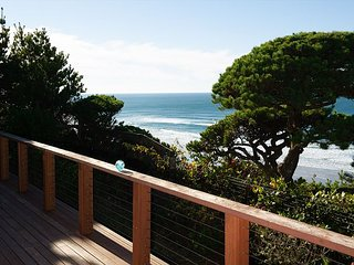 Oceanfront pet friendly home south of Newport's iconic bridge and shops!