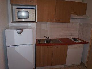 Cauterets Appartement T3 6 personnes 2 chambres, residence 3* piscine sauna