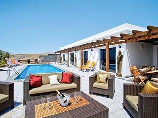 4 bedroom Villa in Puerto Calero, Canary Islands, Spain : ref 5707911