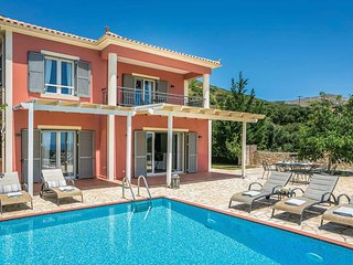 4 bedroom Villa in Káto Kateleiós, Ionian Islands, Greece : ref 5707964