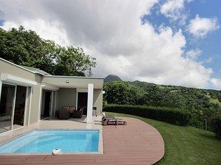 Villa vue mer avec piscine: parfait pour un séjour en amoureux