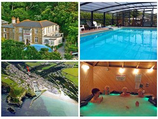 3~A short walk - Beach~Pubs~Shops.SAFE Chlorine Pool & Hottub + WiFi+GARDEN+BB