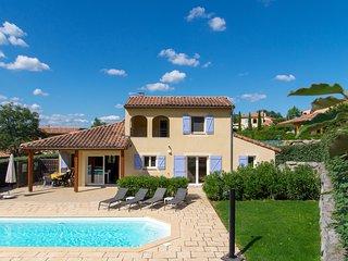 Villa Aux Lions voor 8 personen met privézwembad