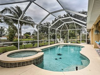 NEW! Canalfront Cape Coral Home w/ Private Dock!