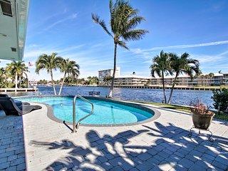 NEW! Waterfront Deerfield House - Pool & Dock