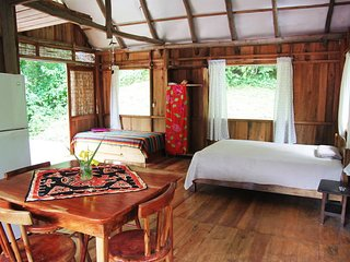 Yogic jungle cabins