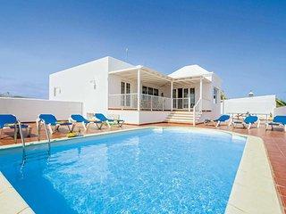 5 bedroom Villa in Puerto del Carmen, Canary Islands, Spain : ref 5705729