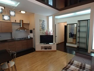 Spacious apartment very close to the centre of Kiev with Lift, Internet, Washing