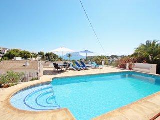 Anna-2 - sea view villa with private pool in Benissa