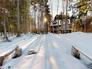 NEW LISTING! New lakefront home on Moosehead Lake w/views, deck & firepit