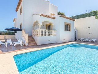 Spacious villa in Xabia with Internet, Washing machine, Air conditioning, Pool