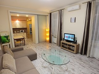 Spacious apartment in the center of Kiev with Lift, Internet, Washing machine, A
