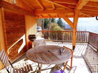 Chalet spacieux et cozy | Vue sur la chaine des Aravis et Mont-Joly