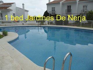 Beautiful 1 bed apartment 33 jardins De Nerja