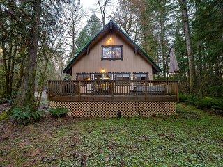 Glacier Springs Family Cabin #22 - HOT TUB, BBQ, WIFI*, NETFLIX, PETS OK, SLPS-8