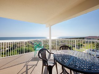 Ocean Front Extended Balcony Facing Ocean and Pool at Colony Reef Club 2403