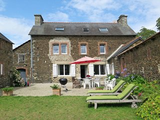 5 bedroom Villa in La Cour Poisson, Brittany, France : ref 5714901