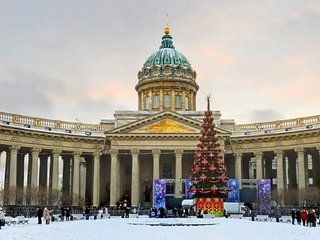 Lux-Apartment at Nevsky Avenue infront of Kazan Cathedral