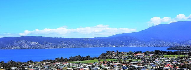 Stay at Charbella's and enjoy one of the Best Views of Hobart.