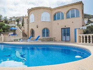 Cozy villa in El Poble Nou de Benitatxell with Internet, Washing machine, Pool