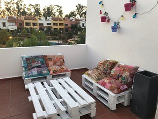 Spacious house in Guillena with Parking, Internet, Washing machine, Air conditio