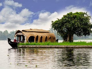 ALLEPPEY HOUSEBOATS 2 ROOM