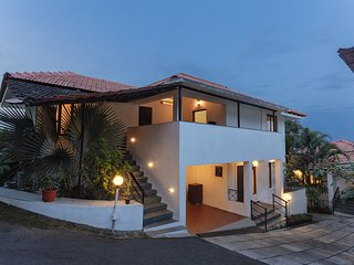 Front elevation view of this Vacation Home in North Goa