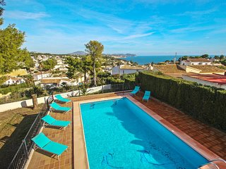 La Boniquessa-6 - sea view villa with private pool in Benissa