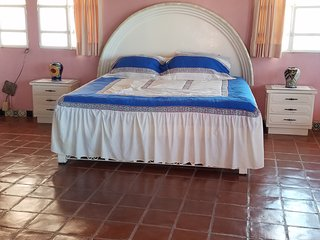 Villa Chelita is 3 bedroom..Sleeps 6 to 8 persons.