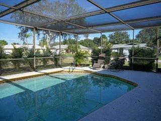 Sunny Pool Home