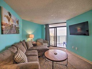 Myrtle Beach Condo w/ Ocean Views & Pool Access!