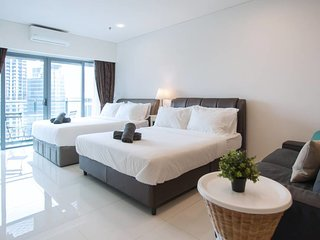 [S5] Cozy Suites/2 Beds/Great KL Tower View/WIFI