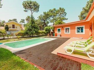 Golf Resort -Beach villa with 3 bedrooms and private pool -Herdade da Aroeira