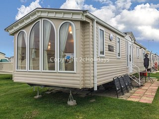8 berth caravan at California Cliffs Holiday Park, in Scratby. REF 50044G