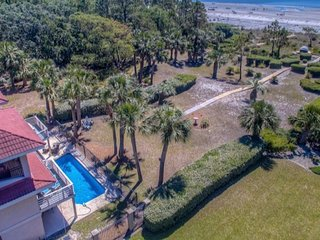 Direct Oceanfront Home w/Heated Pool near Coligny/Sea Pines