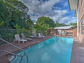 NEW! Hilo Apt w/ River View - Walk to Bay Landing!