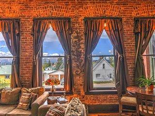Historic Loft with a Beautiful View + Sauna