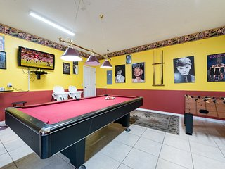 Air-conditioned games-room